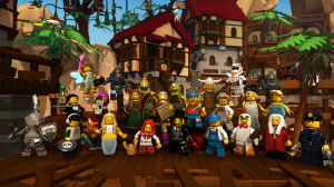 GDC 2014 - LEGO Minifigures Online
