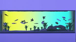 Construire un auarium multicolore