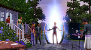 Les Sims 3 : Une extension futuriste et un kit cinéma