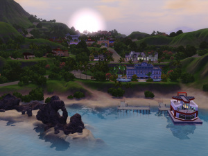 Cartes postales des Sims 3 : Ile de Rêve