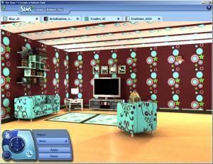 Créez vos propres motifs dans Les Sims 3