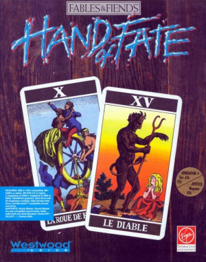 Jaquette de Hand of Fate