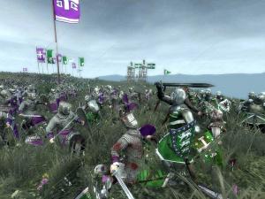Images : Medieval II : Total War sur le champ de bataille