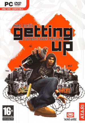 Marc Ecko's Getting up : Contents under Pressure sur PC