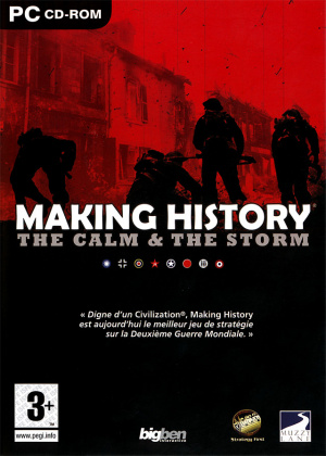 Making History : The Calm & The Storm sur PC