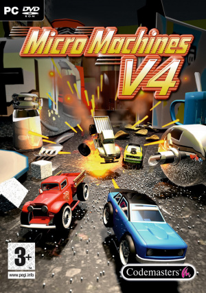 micromachines v4 sur pc. Black Bedroom Furniture Sets. Home Design Ideas