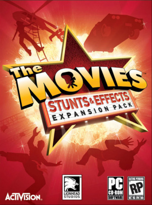 The Movies : Stunts and Effects sur PC