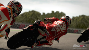 MotoGP 14 illustre ses motos