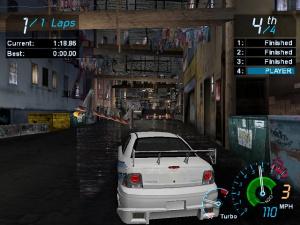 NFS Underground : visuels PC et consoles