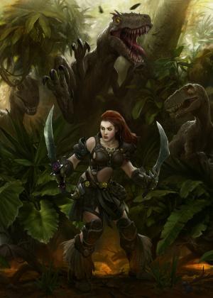 Neverwinter Nights 2 : Storm of Zehir en 2 artworks