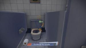 """Accéder au niveau secret : """"Toilet and trouble"""""""
