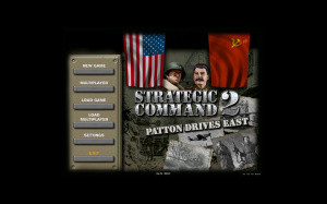 Images : Strategic Command 2 Patton Drives East