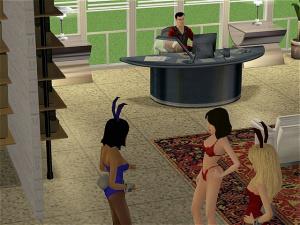 Playboy Mansion filles nues