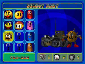 Images : Pac-Man World Rally sur la piste