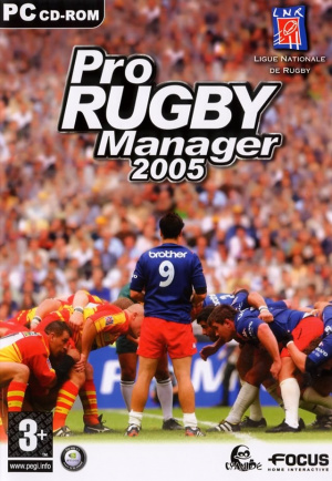 Pro Rugby Manager 2005 sur PC