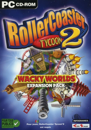 Rollercoaster Tycoon 2 : Wacky Worlds sur PC
