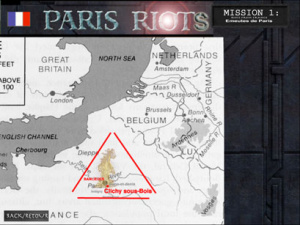 Paris Riots, le jeu officiel sur les émeutes hivernales