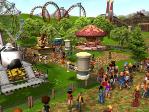 Rollercoaster Tycoon gagne une dimension