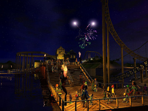 RollerCoaster Tycoon 3 ouvre ses portes
