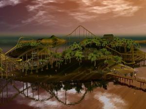 Rollercoaster Tycoon 3 via un déluge d'images