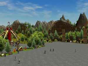 Rollercoaster Tycoon 3 en randonnée sauvage