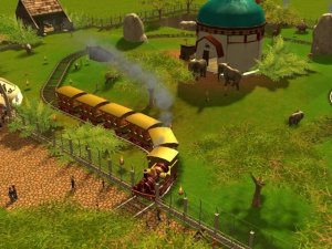 Rollercoaster Tycoon 3 : images sauvages