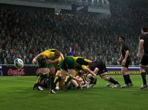 Premières images pour Rugby 08