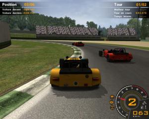 RACE : l'extension Caterham
