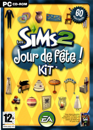 Les Sims 2 : Kit Jour de Fête sur PC