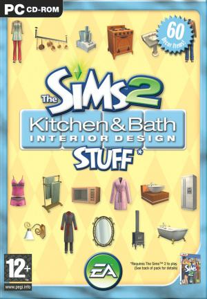 Les Sims 2 : Kit Cuisine et Salle de Bain Design sur PC
