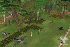 Les Sims ont Quartier Libre