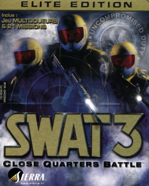 SWAT 3 : Close Quarters Battle : Elite Edition sur PC