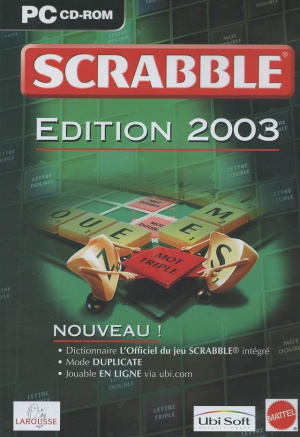 Scrabble Edition 2003 sur PC