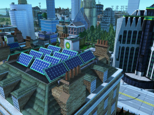 Images : SimCity Societies protège les petites fleurs