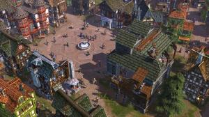 Settlers Rise Of An Empire : c'est la fête au village !