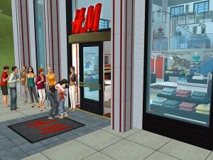 Le kit H&M pour Les Sims 2