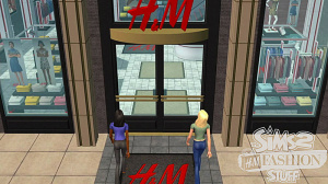 Images : Les Sims 2 : Kit H&M Fashion