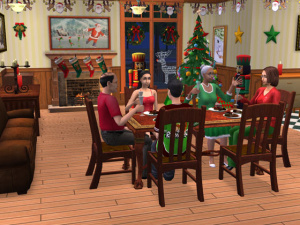 Les Sims fêtent Noël