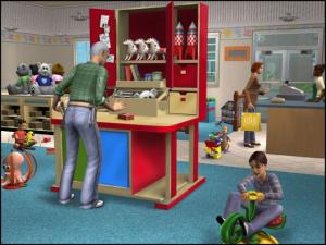 Images : Les Sims 2 font leur commerce