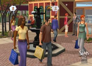 Images : Les Sims 2 gagnent leur vie