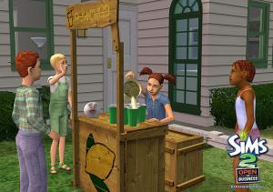 La Bonne Affaire : les Sims pointent et bossent