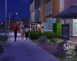 Images : Les Sims 2 : La Bonne Affaire, entrée dans la vie active