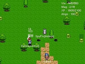 Du MMORPG à la sauce GBA