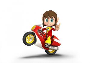 Alex Kidd dans Sonic & Sega All-Stars Racing