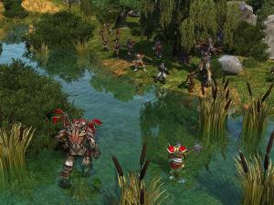 Images : Réponse de Spellforce 2 à Bataille Pour La Terre du Milieu 2