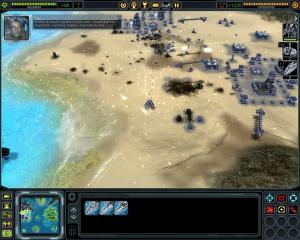 Supreme Commander sur consoles, Space Siege à l'étude