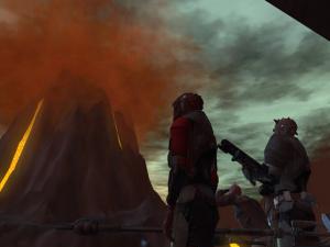 Obi-Wan fait du trial