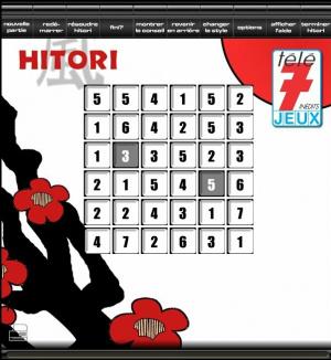 Tele 7 Jeux Hitori