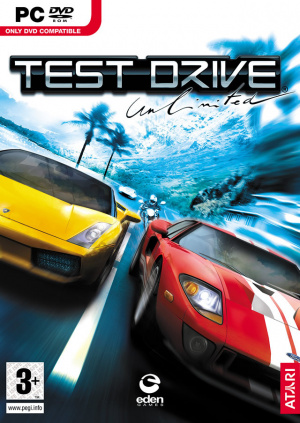 Test Drive Unlimited sur PC