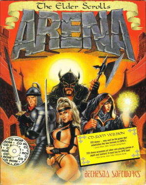 The Elder Scrolls : Arena sur PC